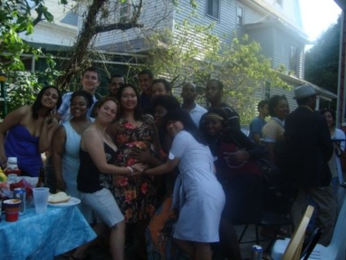 group pic 2 at baby shower